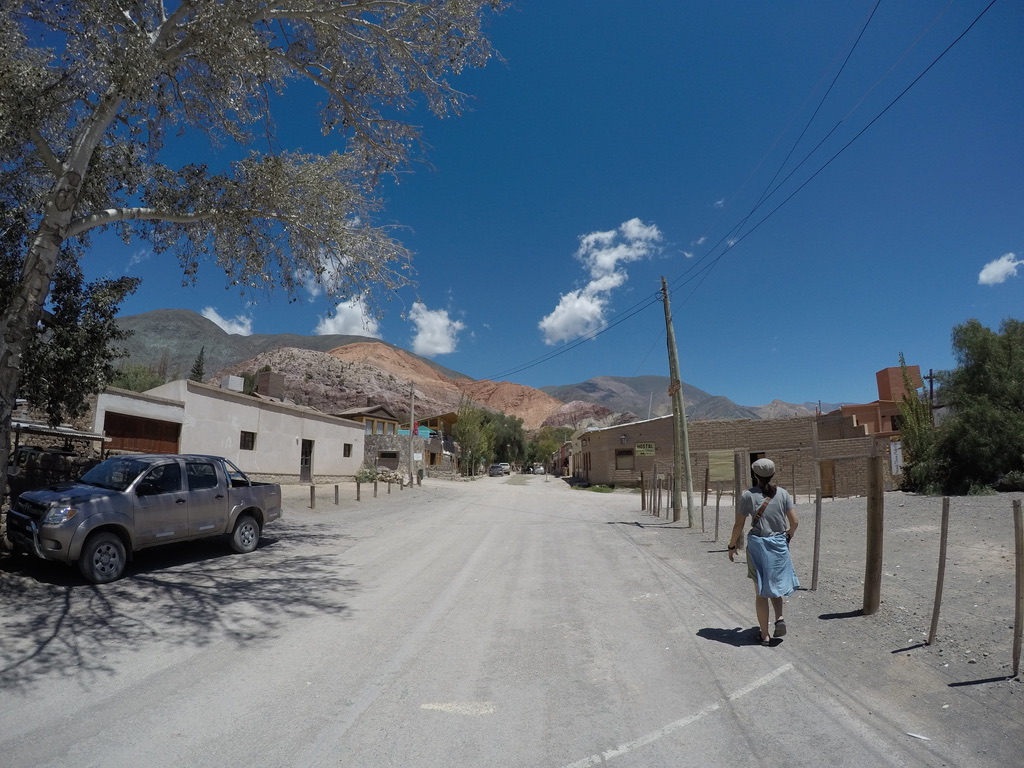 レインボーマウンテン,町,プルママルカ,フフイ,アルゼンチン,世界一周,夫婦,旅,ブログ