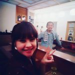ボゴタの日本食レストランふじ居酒屋で寿司シェフ!