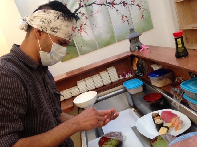 ボゴタ,日本食,レストラン,ふじ,居酒屋,寿司,コロンビア,世界一周,旅,ブログ